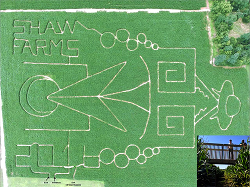 Explore Our 12 Acre Corn Maze At Shaw Farms In Milford Ohio